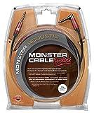 Monster Cable EMCACST2-12A Cavo per Strumenti Musicali, 3.65 m, Nero