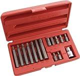 Am-Tech 15 Stück Hex bit und Socket Set, I8550