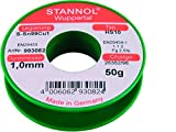 Stannol 535248 Lötdraht 1,0mm 250g