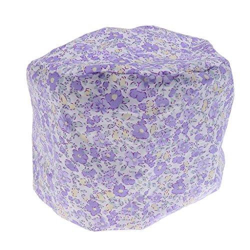 MagiDeal Lace Up Cotton medizinische kappen Schlafmütze Cap Chirurgische Hut Bouffant Scrub Cap - Farbe1, one size