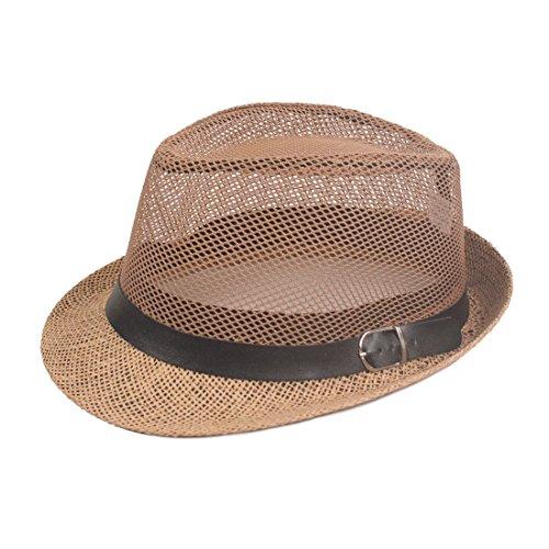 dfb840b9c164c2 CHH Le Men's Summer Hat Cap Jazz reniflard,