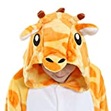 Einhorn Kostüm Tierkostüm Pyjamas Jumpsuit Tier Schlafanzug Cosplay Karneval Fasching Giraffe -