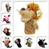 Set Of 4 Animal Hand Puppets By SHERRI'S HOME AND GARDEN