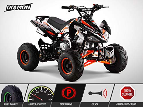 Quad Enfant 110 cm3 - PANTHERA 110 - DIAMON - Limited Edition 2019 - Orange