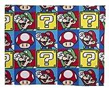 Character World Nintendo Brothers Decke 120x150cm
