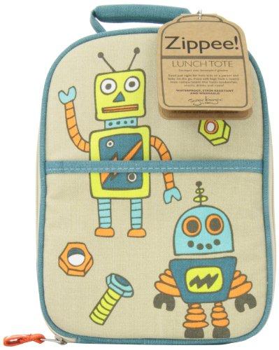 Sugarbooger Zippee! Lunch Tote, Retro Robot