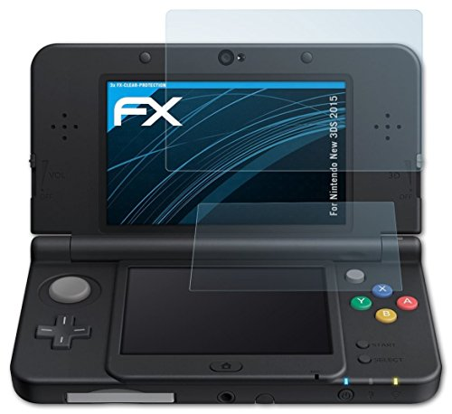 atfolix-screen-protection-film-nintendo-new-3ds-2015-screen-protector-set-of-3-fx-clear-crystal-clea