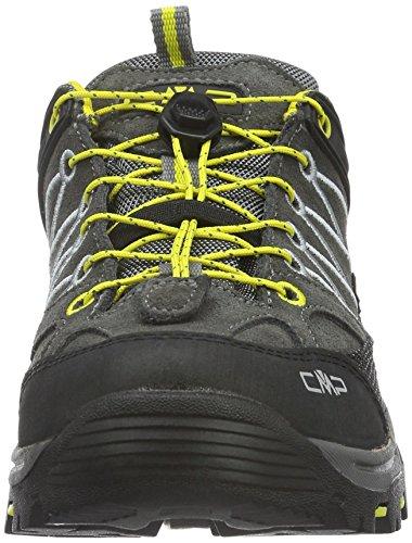 CMP Unisex-Erwachsene Rigel Trekking-& Wanderhalbschuhe Schwarz (graffite U887)