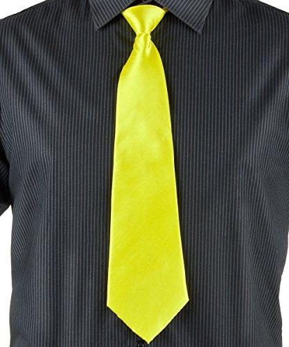 Generique Neongelbe Krawatte