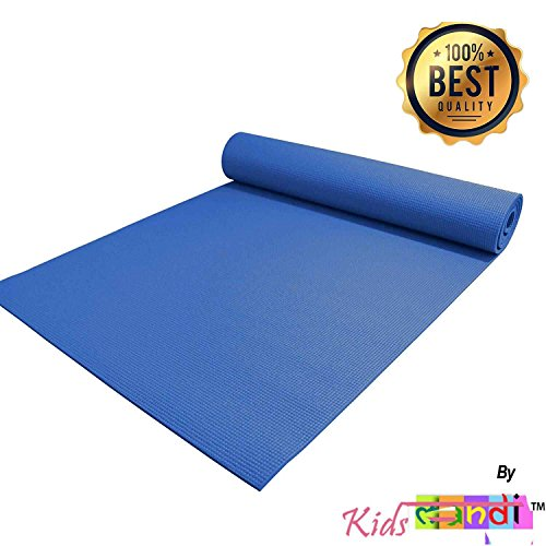 KS Anti Skid Grip Yoga Mat 4MM Thick & Soft Comfort Fitness Exercise Non Slip Surface