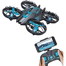 Mini Drohne mit WiFi, 0,3MP Kamera, 2,4G, Quadcopter, UFO, Hubschrauber, mit integriertem USB-Akku für JXD 515W
