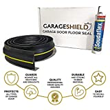 Garage Door Floor Threshold Weather Seal 2.5M Draught Excluder - Includes Free Sealant