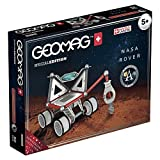 Geomag Special Edition Rover Lunare NASA, Costruzioni Magnetiche, 52 Pezzi, Colore Multicolore(Bianco/Grigio/Rosso/Blu), 809