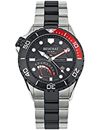 Reloj Beuchat hombre Collection Ocea automático Reserve de Marche Reference beu0097–2