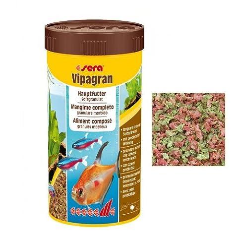 Soir Vipagran 250ml–Aliment complet pour le engrais de base de tous les types de poissons