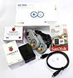 Raspberry Pi 3 Retrogame Starter Kit per Retropie (32 GB)