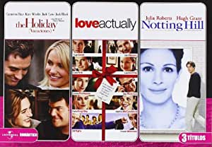 Pack: Notting Hill + Love Actually + The Holiday [Import espagnol]