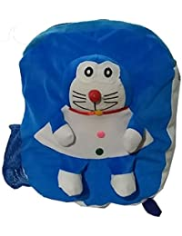 Pari Toys Blue Color School Bag For Kids, Travelling Bag, Picnic Bag, Carry Bag With Soft Material 15 Inch - B074CGL87Y