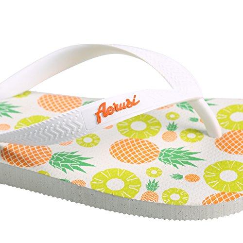 Aerusi, Pantoufles Ananas Pour Femme