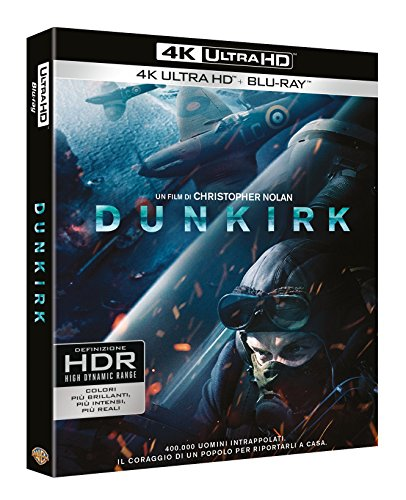 Dunkirk (Blu-Ray 4K UltraHD + 2 Blu-Ray)