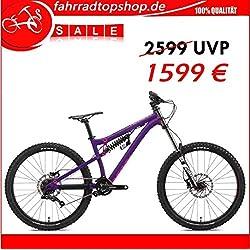 """NS BIKES SODA EVO COIL DH/BIKEPARK Vélo 27,5""""SPD SRAM x4Trigger 8 vitesses, violet RH: M/L"""