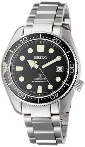 Seiko Reloj de Hombre automático 44mm Correa y Caja de Acero SBDC061