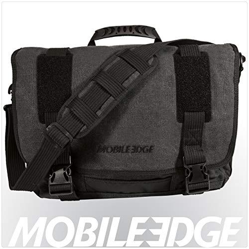 "Mobile Edge MEUME5 Eco-Friendly Laptop/Tablet 14.1\"" Ultrabook or 15\"" Macbook Messenger Bag, Ash"