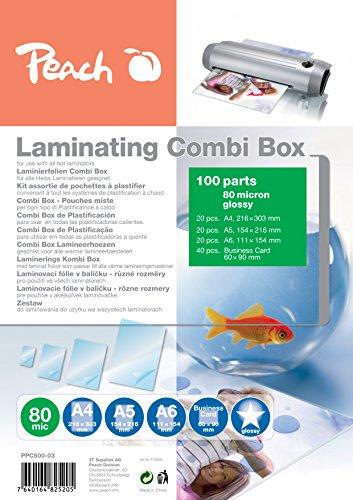 Peach PPC500-03 Laminierfolien-Set 100er