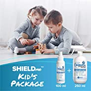 Kids Package of High Level Disinfectant & Sanitizer 100% Natural [100ML+250ML] - SHIE
