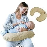 Sei Design Cuscino da allattamento ergonomico, con rivestimento 100% cotone di alta qualità. Privo di sostanze nocive secondo lo standard Öko-Tex 100 classe 1.