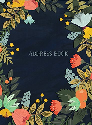 Address Book - Modern Floral Small (Address Books) -