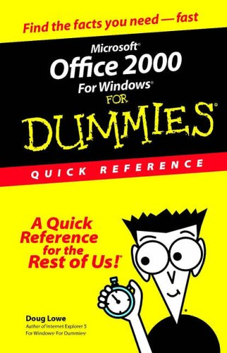 Microsoft Office 2000 for Windows for Dummies (For Dummies Series) -