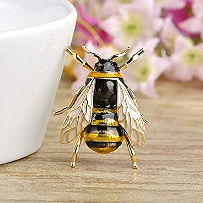 TOOGOO Cute Bee Fly Insect Brooch Clothes Accessories Enamel Brooches Birthday Gifts Jewelry : everything £5 (or less!)