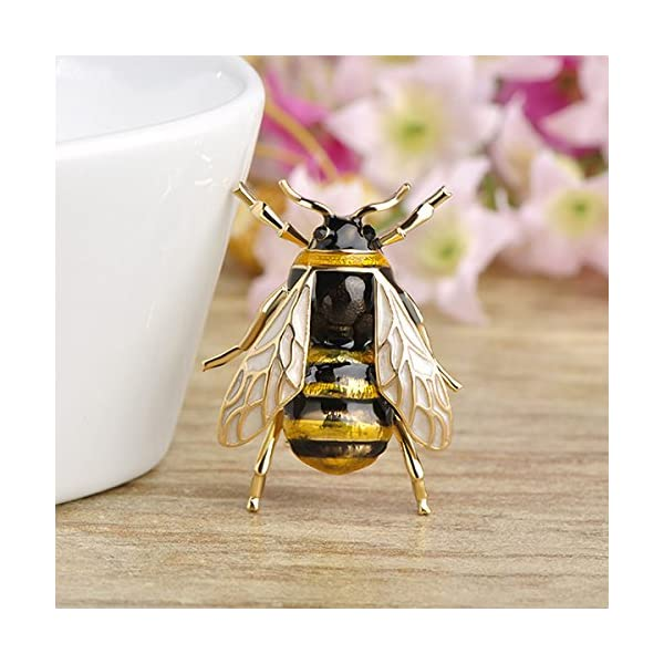 2f83d0711 TOOGOO Cute Bee Fly Insect Brooch Clothes Accessories Enamel Brooches  Birthday Gifts Jewelry