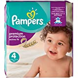 Pampers, Pannolini Active Fit, Taglia 4 (8-16kg)