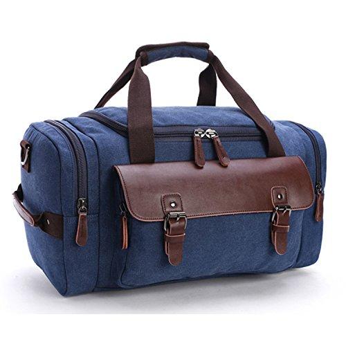Outreo Borsa Tracolla Uomo Borsello Borse a Spalla Borse da Viaggio  Sportive Sacchetto Vintage Borsetta Messenger Bag per Studenti Tasca Tablet  ... 72349379fba