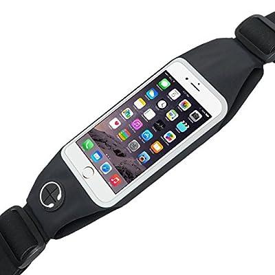Power Theory Wasserresistente Unisex Sport Lauftasche Laufgürtel Bauchtasche Running Belt Ideale Tasche für Smartphone Handy Fitness Jogging Fahrradfahren Sporttasche