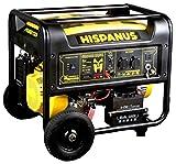HISPANUS GENERADOR ELECTRICO 6000W, diseñado en España