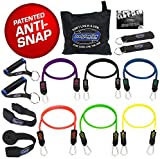 Bodylastics MAX XT Resistance Bands Sets - These top notch Home and Travel Gyms include 6 of our Best Quality ANTI-SNAP exercise tubes, heavy Duty Components: Anchors/Handles/Ankle Straps, and exercise training resources.