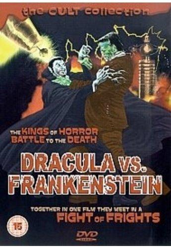 Preisvergleich Produktbild Dracula vs. Frankenstein by J. Carrol Naish