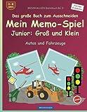 BROCKHAUSEN Bastelbuch Bd. 5 - Das große Buch zum Ausschneiden Mein Memo-Spiel - Junior: Groß und Klein: Autos und Fahrzeuge