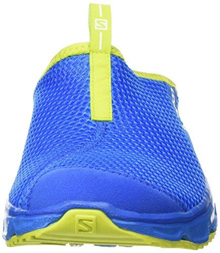 SalomonRx Slide 3.0 - Sandali Uomo Blu (Bright Blue/Union Blue/Gecko Green)