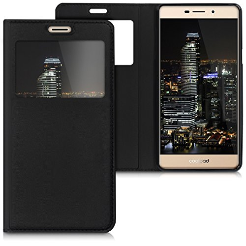 kwmobile Coolpad Modena 2 Hülle - Handyhülle für Coolpad Modena 2 - Handy Case Schutzhülle Klapphülle