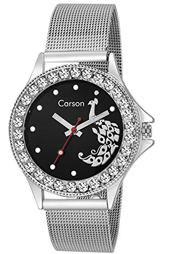 Carson CR1553  Analog Watch For Unisex
