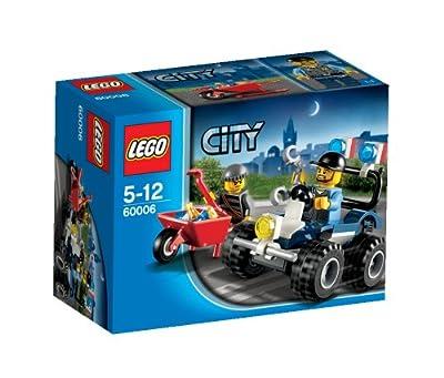 LEGO CITY 60006 - Todoterreno de Policía por LEGO