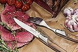 Laguiole Style de Vie Steakmesser Luxury Line, 6-teilig, Olivenholz - 5