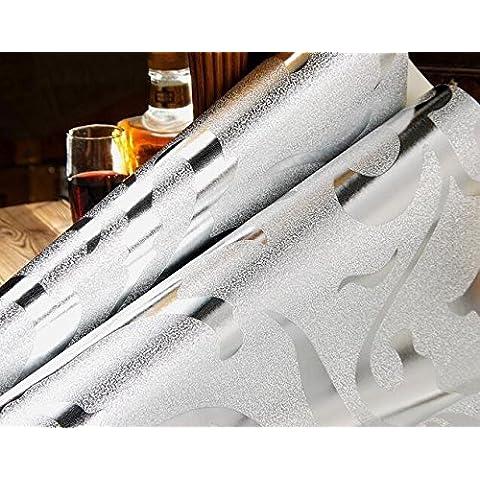LXPAGTZ Televisione di lamina d'oro continentale carta da parati soggiorno camera da letto TV sfondo muro PVC progetti speciale carta da parati dorata, lungo 9.5 m * largo 0,53 m (5 m ²) , pure wallpaper