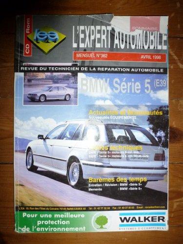 Descargar Libro REVUE TECHNIQUE EXPERT AUTOMOBILE BMW SERIE 5 E39 de ETAI