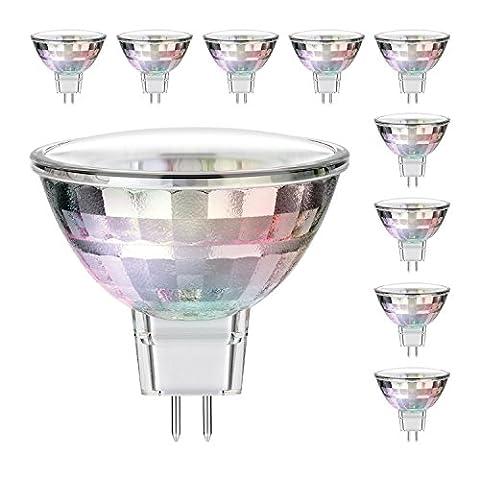 parlat GU5.3 LED Strahler MR16 1,6W 90lm 110° warm-weiß, 10 Stk.