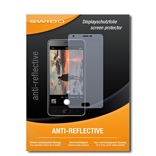 SWIDO Schutzfolie für Doogee X20 [2 Stück] Anti-Reflex MATT Entspiegelnd, Hoher Härtegrad, Schutz vor Kratzer/Bildschirmschutz, Bildschirmschutzfolie, Panzerglas-Folie
